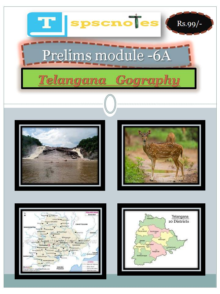 Telangana Geography